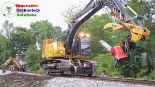 Awesome Mega Machines Technology- Equipment Mega Road Construction, Tractor Chainsaw,Harvest Machine