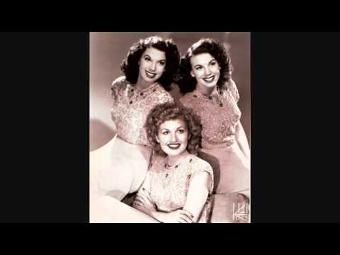 The Dinning Sisters - We'll Meet Again (c.1945).