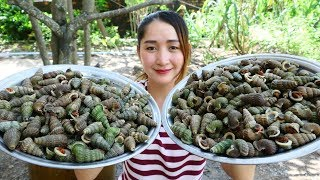 Yummy Whelk Cooking Coconut Juice Recipe - Cooking Skill