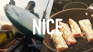 Catch and Cook - Sesame Seared Northern Bluefin Tuna - Kayak Fishing