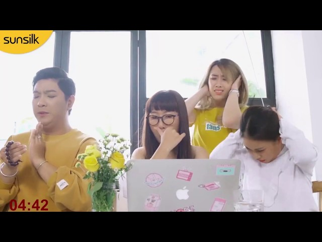 Đông Nhi quảng cáo sunsilk - Tập 3 Liệu Trang Hý có cứu bồ được cả nhóm.