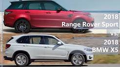 2018 Range Rover Sport vs 2018 BMW X5 (technical comparison)