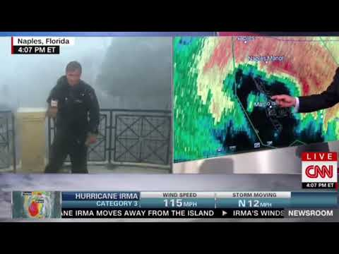 Where do,High Flying Birds go during a hurricane ,Irma, Chad Myers Meteorologist explains