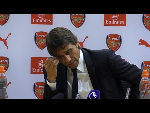 Arsenal 3-0 Chelsea - Antonio Conte Full Post Match Press Conference