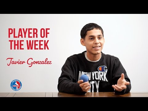 Player of the Week - Javier Gonzalez  full interview