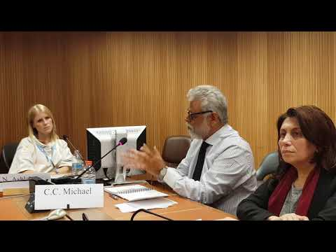 Side Event on Refugees Human Rights Crisis_Mr. Michael COLIN COOK- 14/03/2018