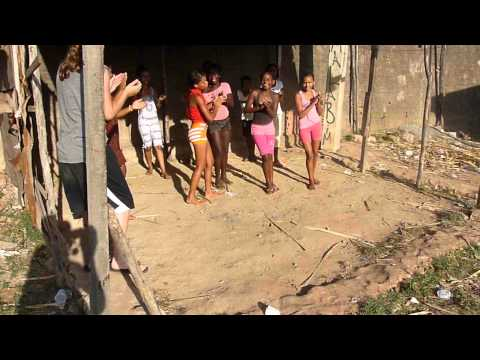Dancing with the kids @ the slum Jaracaty in Sao Luis - Brazil