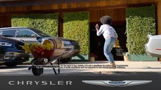 homepage tile video photo for Chrysler Pacifica   Pedestrian Auto Emergency Braking System