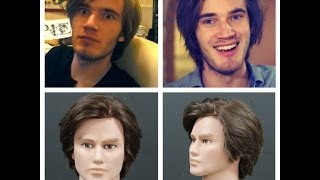 PewDiePie Haircut Tutorial – Men's Haircut – TheSalonGuy: TheSalonGuy ID7145 фото