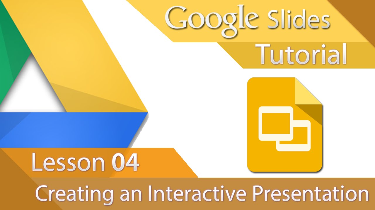 google slides tutorial 04 creating an interactive presentation