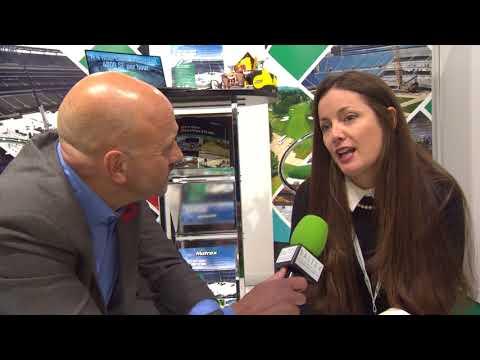 Nicole Andrews Interview at Saltex 2017 - Matrax Turf Protection