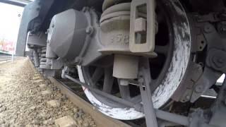 Плавное трогание с места пассажирского поезда