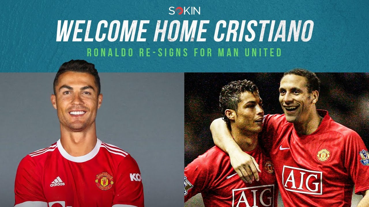 Download RIO REACTS TO CRISTIANO RONALDO BACK AT MANCHESTER UNITED!!