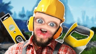 I'M A SUPER SMART BUILDER MAN | Satisfactory #6 w/ Robin