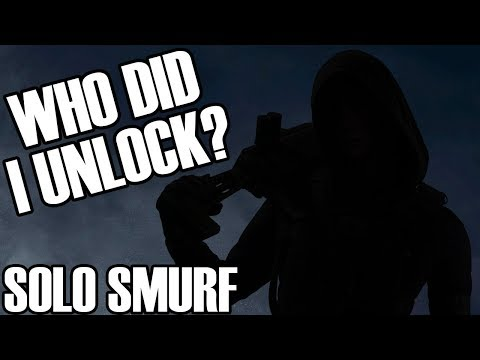 Solo Smurf: First DLC Operator Unlocked - Rainbow Six Siege |