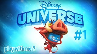 PLAY WITH ME ? || Disney Universe + Message
