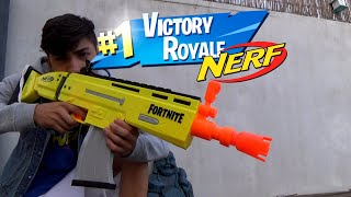 FORTNITE SCAR in REAL LIFE Fortnite X EPIC NERF (review)