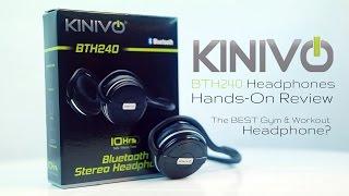 Video The BEST Gym & Workout Headphones? | Kinivo BTH240 Bluetooth Headphones Review download MP3, 3GP, MP4, WEBM, AVI, FLV Agustus 2018