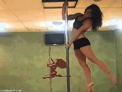 Fit in hotpants pole dancer style thumbnail