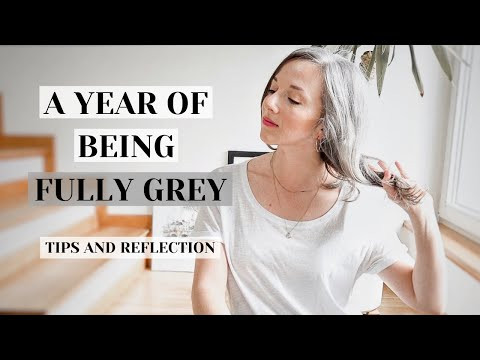 i-have-been-grey-for-a-year-||-my-grey-hair-lessons-and-tips