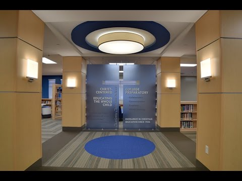 Charlotte Christian School - Bryte Little Efird Media Center