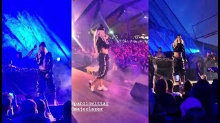 Pabllo Vittar canta &quotSua Cara&quot no palco do Coachella 2019 junto com o Major Lazer