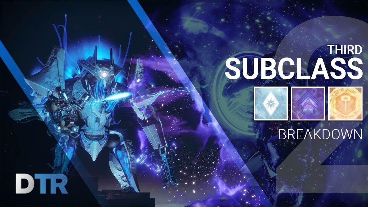 Destiny 2: 3rd Subclass Breakdown! TTK Subclasses!