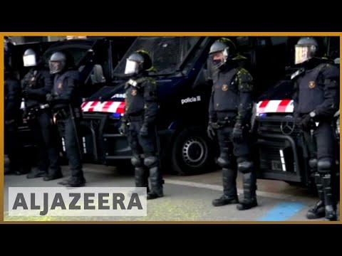 Catalonia independence bid struggles as more leaders arrested | Al Jazeera English