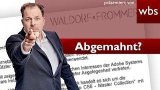 #Filesharing-Abmahnung Waldorf Frommer | Rechtsanwalt Christian Solmecke