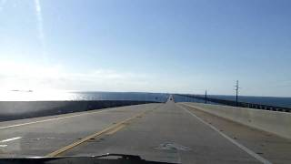 Driving Overseas Highway US 1 to Key West HD