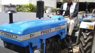 PREET combine & PREET tractors..an ISO 9001:2008 certified company