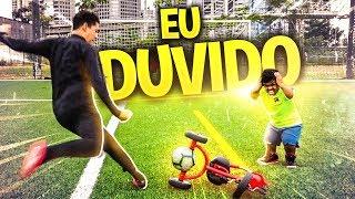 GOL DE TRICICLO (DO ANÃO KKK) - EU DUVIDO!!!