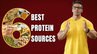 Top 6 High Protein Foods | Veg & Non Veg | Yatinder Singh