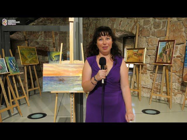 """Vernisajul expoziției """"Momente în culori"""" - Elisabeta Stoenescu"""