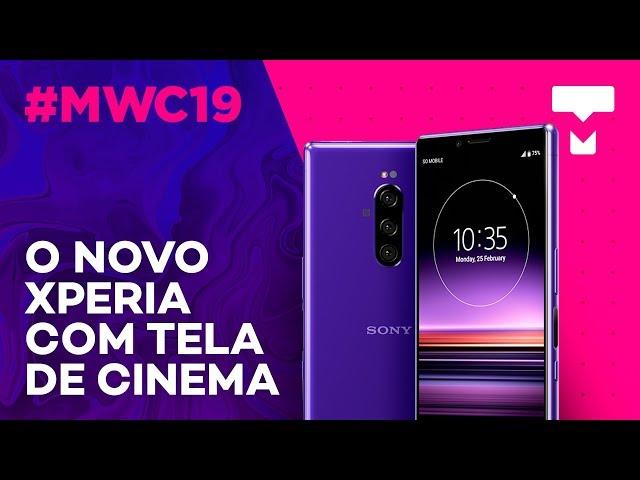 Hands-on: Sony Xperia 1 e sua tela incrível - MWC 2019- TecMundo
