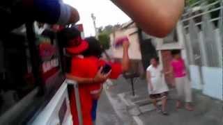 Turba Roja 94 *2013* Llegando a San Miguel