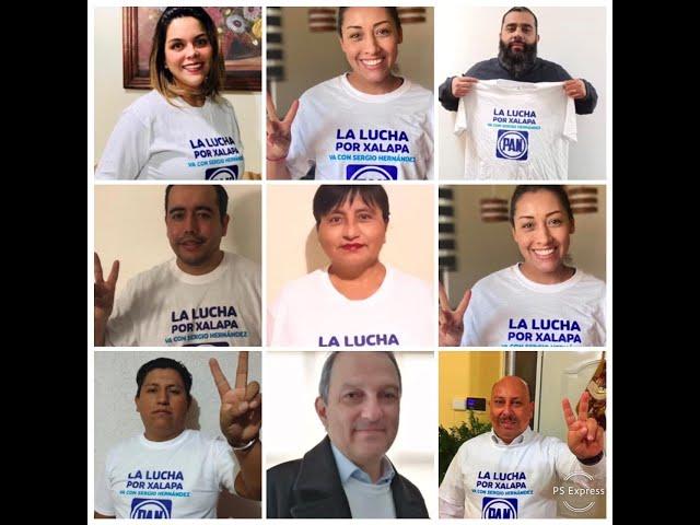 Militantes señalan que es momento de que el PAN gobierne Xalapa y proponen a Sergio Hernández