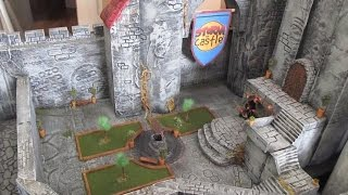 Storm The Castle Diorama Part 8 The Inner Courtyard