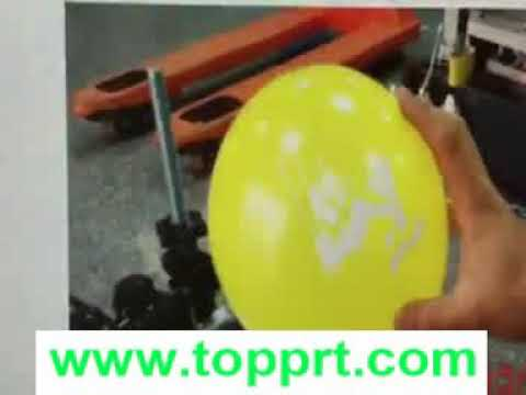 manual balloon screen printer from shenzhen shangtuo colourful printer consumable co.,