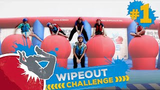 WIPE OUT CHALLENGE #1 | DE RODE BALLEN VAN WIPE OUT