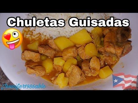 CHULETA GUISADA