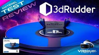 PlayStation VR PSVR : 3dRudder Test Review et Verdict sur le nouveau contrôleur du PSVR
