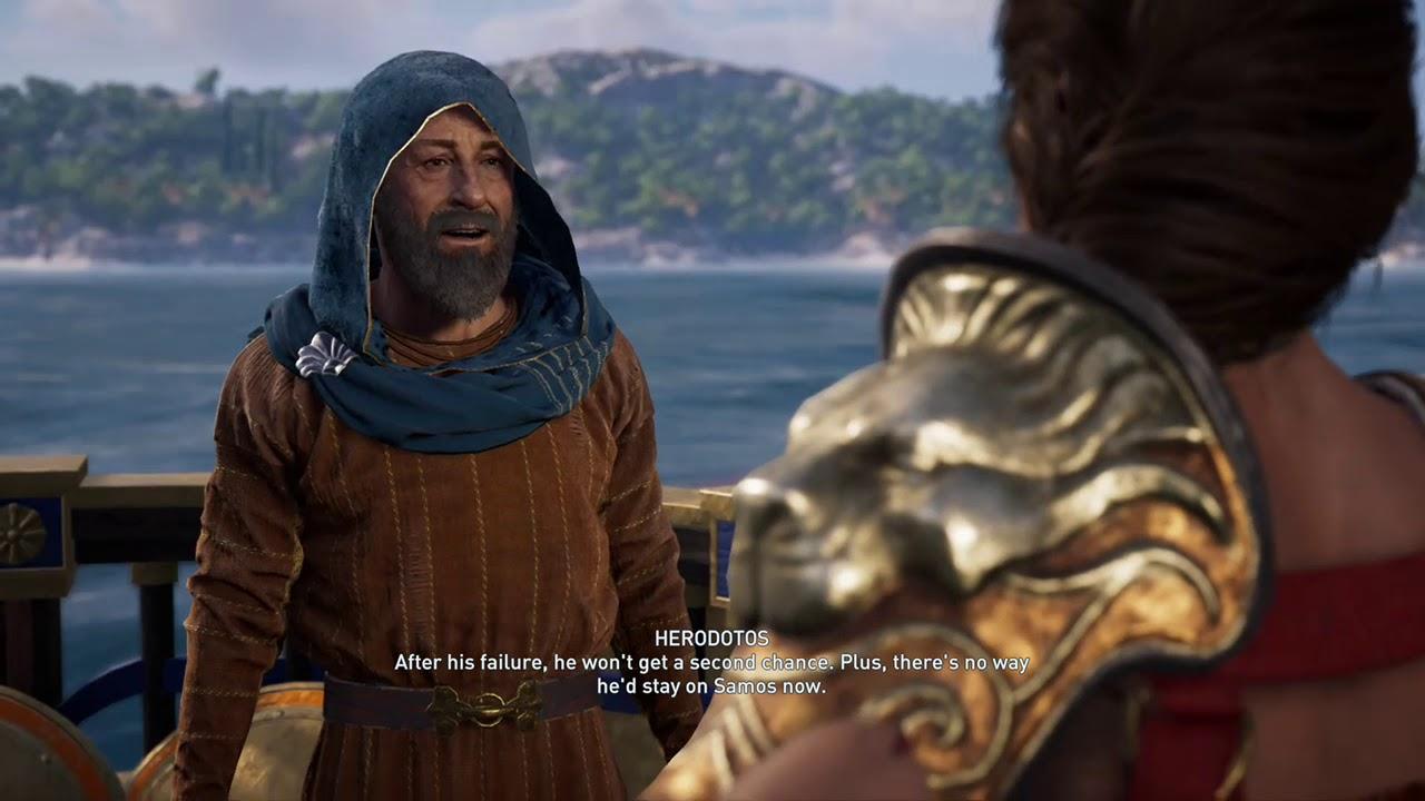 Ac Odyssey Defense Of Samos Youtube