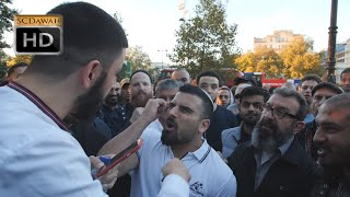 P3 - Nice Shot!? Ali Dawah Vs Jewish Visitor Avi Yemeni | Speakers Corner | Hyde Park