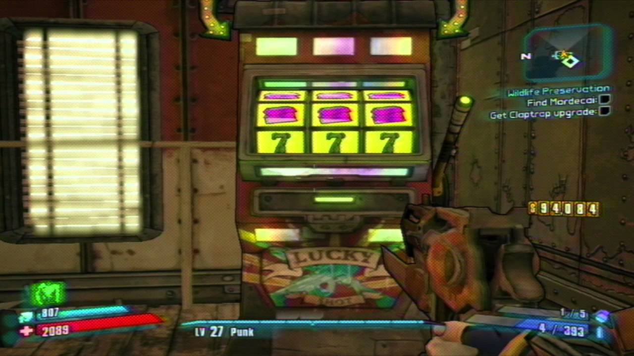 Slot machine bug borderlands 2