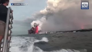 GSM Update 7/17/18 - Kilauea Lava Explosion Injures 23 - Ambae Erupts - Climate Lies Corrected