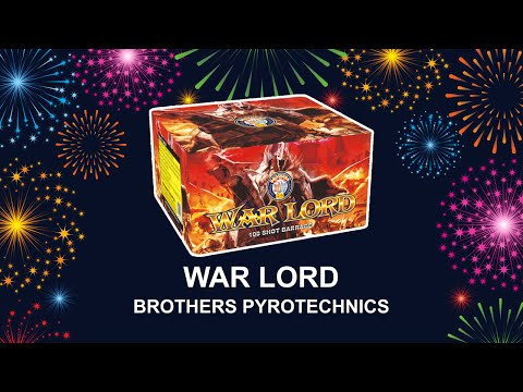 War Lord - Brothers Pyrotechnics (Fireworks, Cambridge)