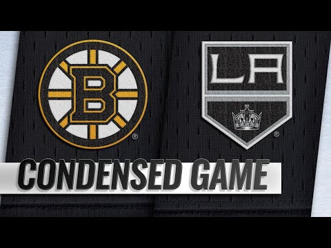 02/16/19 Condensed Game: Bruins @ Kings