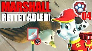 Paw Patrol IM EINSATZ #4: Marshall rettet verletzten Adler! Skye mit Flugschiene! Let's Play Deutsch