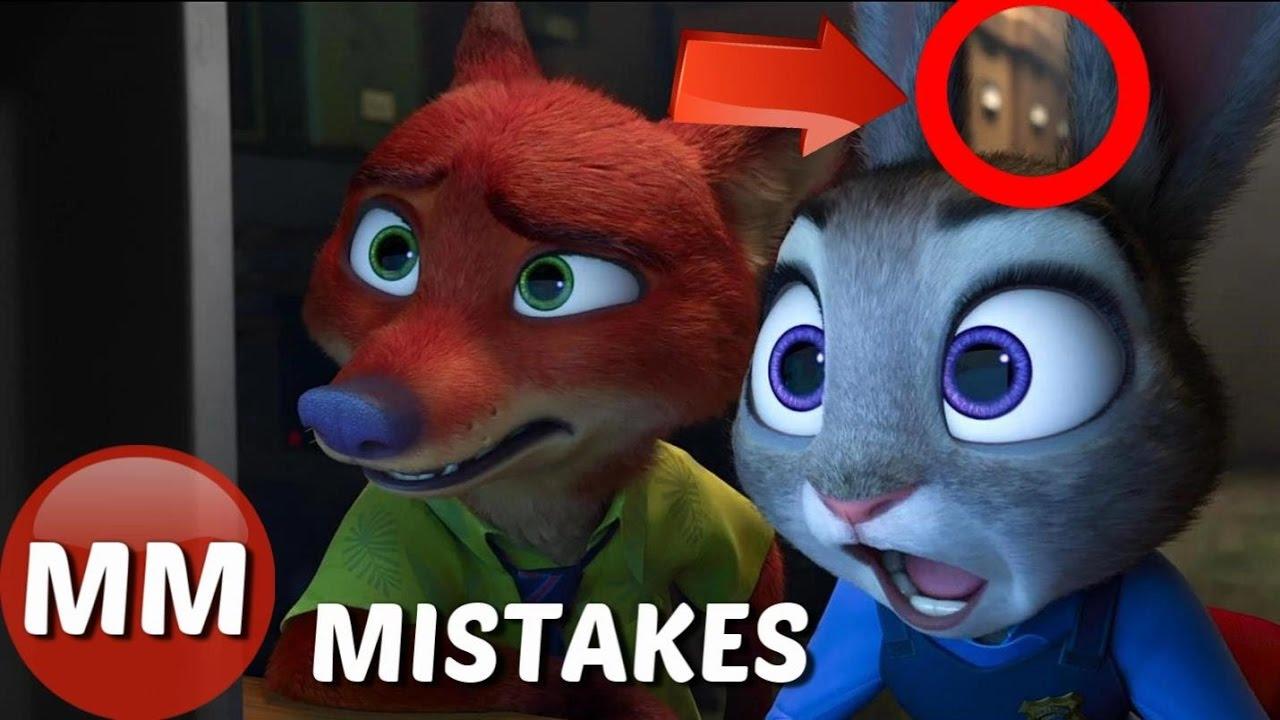 Download Disney Zootopia MOVIE MISTAKES You Didn't See    Zootopia Movie